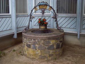 Brunnen auf dem Tanzhof Berstadt