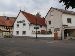 """Ehemalige Gaststätte """"Zur Brücke"""" Berstadt"""