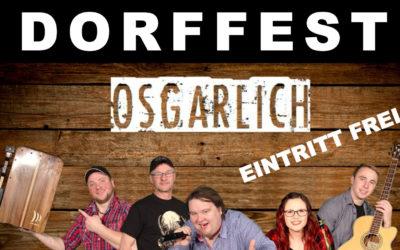 """Dorffest """"175 Jahre Gesangverein"""""""